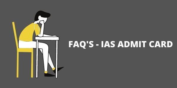 UPSC Admit Card Download/UPSC Admit Card, know the FAQ's .